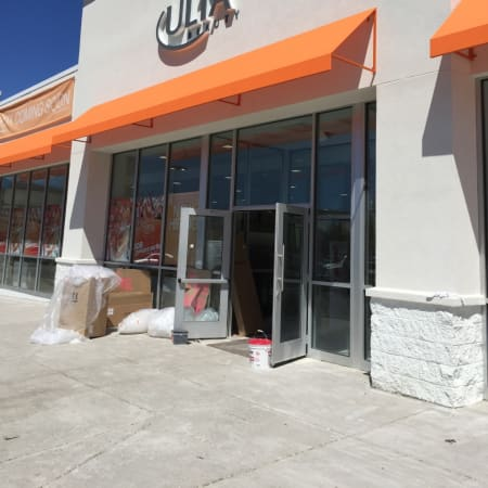 A new Ulta Beauty store is under construction in Norwalk on Route 7 next to Staples and Wal-Mart.