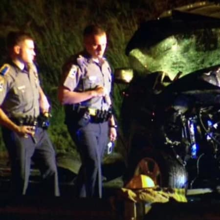 Two people were killed in an overnight crash on Route 8 in Shelton.