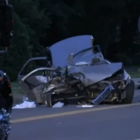 Five people were injured Tuesday night in a crash near Wood Lane in New Rochelle.
