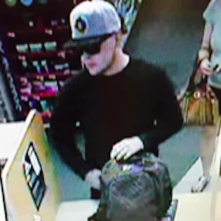 This man is believed to have stolen a large quantity of oxycodone pills at the CVS Pharmacy on Black Rock Turnpike in Fairfield.