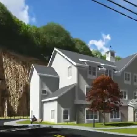 Members of the Harrison town board are supporting a planned 160-unit senior living complex at the former Lake Street Quarry site.