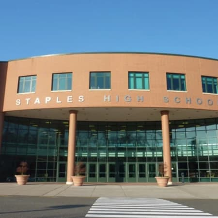 The death of a Staples High School teacher on Saturday was ruled a suicide by authorities.