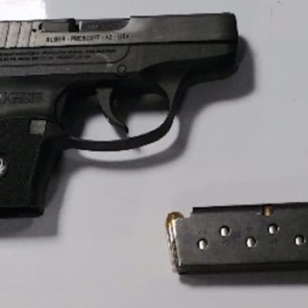This handgun carried by a Monroe man was detected by TSA officers at LaGuardia Airport checkpoint on Thursday, April 28.