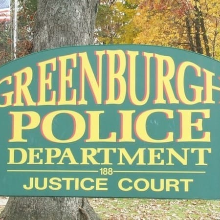 Greenburgh police reported that nine vehicles were broken into and a van was stolen over the weekend in the north end of the township.