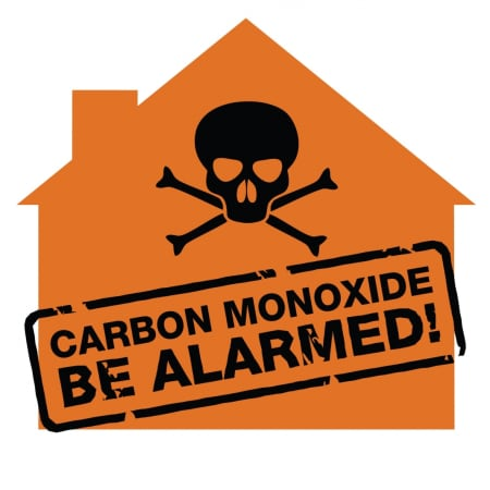 Fourteen people staying at a local residence were hospitalized after a carbon monoxide alarm was triggered on Saturday.