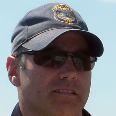 Westport Police Officer Robert Myer, pictured while on patrol with the Marine Division in 2011