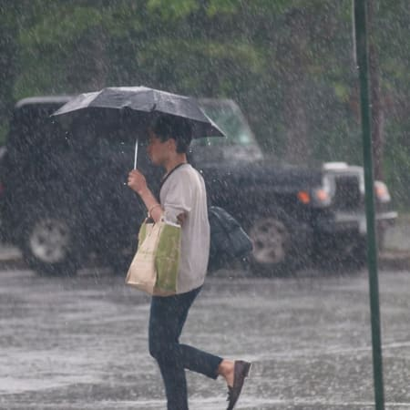 Rain will drench Fairfield County Tuesday.