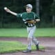 Right-hander Joe McEniry tosses a pitch for the victorious Yorktown Thunder.