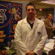 Ron Sosinski of Mad Science said many people were curious about the experiments at his booth.