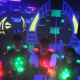 Laser taggers during a trial run in New Rochelle.