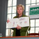 """Roberts reads from her latest book, """"Founding Mothers: Remembering the Ladies."""""""