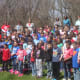 "The students at Wolfpit Elementary celebrate Arbor Day by singing ""Let It Grow"" together."