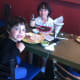 Dawn Konzerowsky enjoys a Mexican meal with her sons, Jack, 5, at left, and Max, 10, center, at Olé Molé at 1030 High Ridge Road on Cinco de Mayo. A former Texas resident she praised the restaurant as having authentic Mexican food.