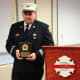 "At a recent Belltown Fire Department awards dinner, Captain George Previs was elected ""Firefighter of the Year"" by a majority vote of the membership."