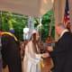 A John Jay High School 2014 graduate receives her diploma.