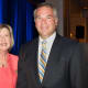 Maggie Wilderotter, Chairman & CEO, Frontier Communications with Ken Seel, Board of Directors, The Business Council of Fairfield County and Office Managing Partner, KPMG LLP.
