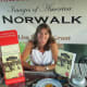 Author Lisa Grant will be selling and signing copies of her book on the history of Norwalk at several Sheffield Island events this weekend.