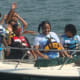 Campers from Norwalk and Stamford enjoy a day on the water at the Darien Sail and Power Squadron's annual Boat Camp.