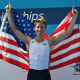 New Canaan's Andrew Campbell won a gold medal Sunday at the Under 23 World Championships in Italy.