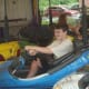 Bumper cars are one of the popular attractions at the Easton Fireman's Carnival.