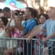 The crowd at Alive@Five on Thursday in Stamford.