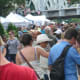 The crowd fills the streets at the SoNo Arts Celebration on Sunday.