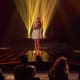 """Carly Rose Sonenclar sings in front of the """"X Factor"""" judges. The 13-year-old from Mamaroneck sang """"Somewhere Over the Rainbow."""""""