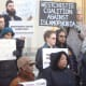 Protesters speak out against cases of police brutality and racial profiling in Westchester.