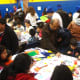 In addition to meals, the day also included arts and crafts for the kids of Port Chester.