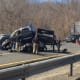 I-684 south is shut down after a major multi-vehicle accident Thursday.
