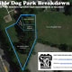 The proposed Port Chester Dog Park would be at Abendroth Park's upper level.