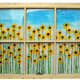 Tuckahoe artist Brian Arditi creates windowscapes with flowers found in nature.