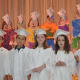 Students sang and recited what they've learned throughout Kindergarten.