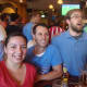 Renata Santos, Phil Milano, Nick Guarcello and Matt Erickson watch the U.S.-Germany World Cup game at O'Neill's Pub in South Norwalk.