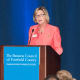 Frontier Communications CEO Maggie Wilderotter delivered the keynote speech at The Business Council's annual meeting.