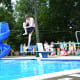 Divers did their best tricks at the Chappaqua Swim & Tennis Invitational meet, July 20.