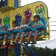 Children enjoy the rides at the Easton Fireman's Carnival.