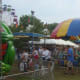 Fire Chief Steve Waugh said the crowds have been consistently large at the carnival this year.