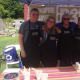 Jimmy Ray Stagg, Nellie Stagg, Amy Schroeder-Riggio and Kelsey Sacane of Builders Beyond Borders made a Cincinnati-style chili for the cook-off.