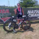 Greenwich's Emma Langley won her age group in the Olympic Distance at the National Age Group Triathlon Championships.