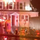 Twelve people were displaced by the fire on Larsen Street on Monday night, the second fire that Norwalk firefighters battled.