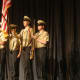 The posting of colors at the Norwalk Public Schools annual convocation Monday.