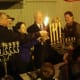 Norwalk officials light the menorah for the third night of Hanukkah in the annual ceremony at Stew Leonard's.