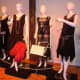 Some of the stylish black dresses Darien women would have worn back in the Roaring '20s.