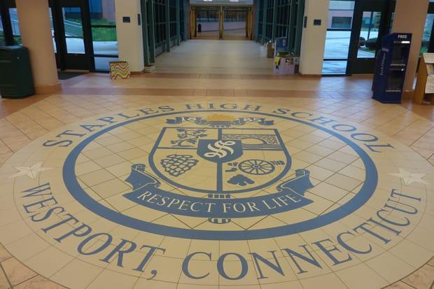 Westport's Staples High School was recently recognized as one of the best high schools in the state and nationwide by The Daily Beast and Newsweek Magazine.