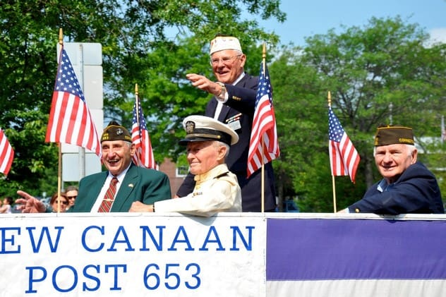 Memorial Day parades will step off Monday in many towns throughout Fairfield County.