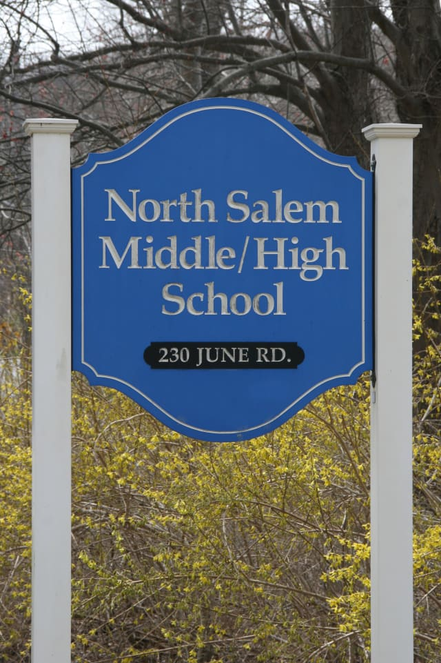 The North Salem Teachers' Association issued an advisory about vandalism Monday.