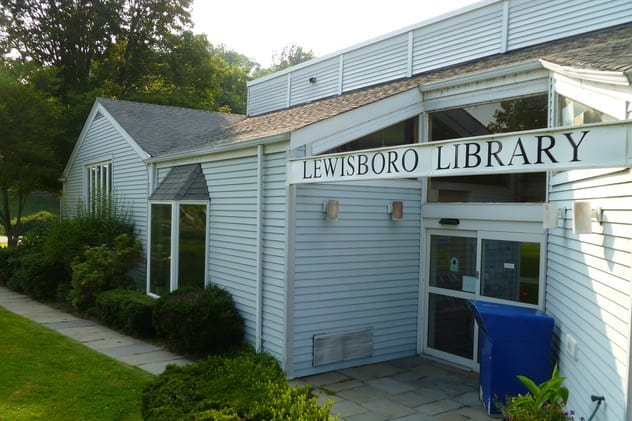 The Lewisboro Library has received a state grant.
