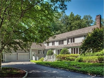 The home at 1566 Ponus Ridge, New Canaan will be open this Sunday from 2 to 4 p.m.