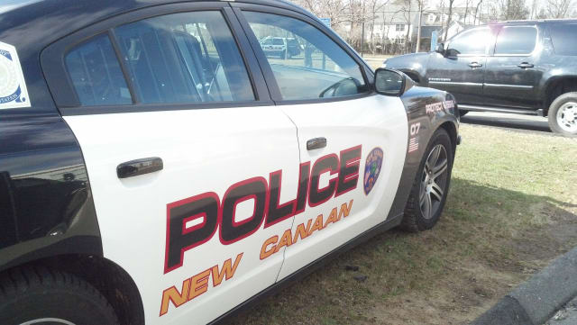 A New Canaan woman was charged with driving under the influence after police found she drove into a guardrail on Smith Ridge Road.
